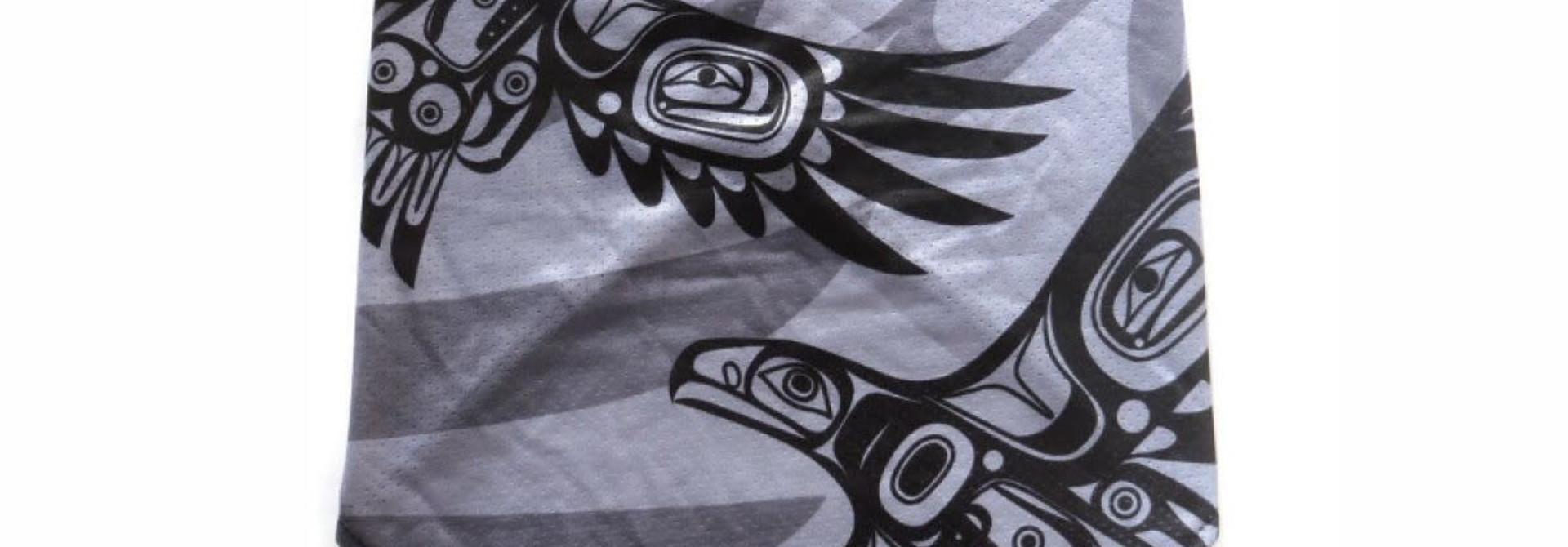 Bandana Gaiters with Ear loops -Soaring Eagle by Corey Bulpitt