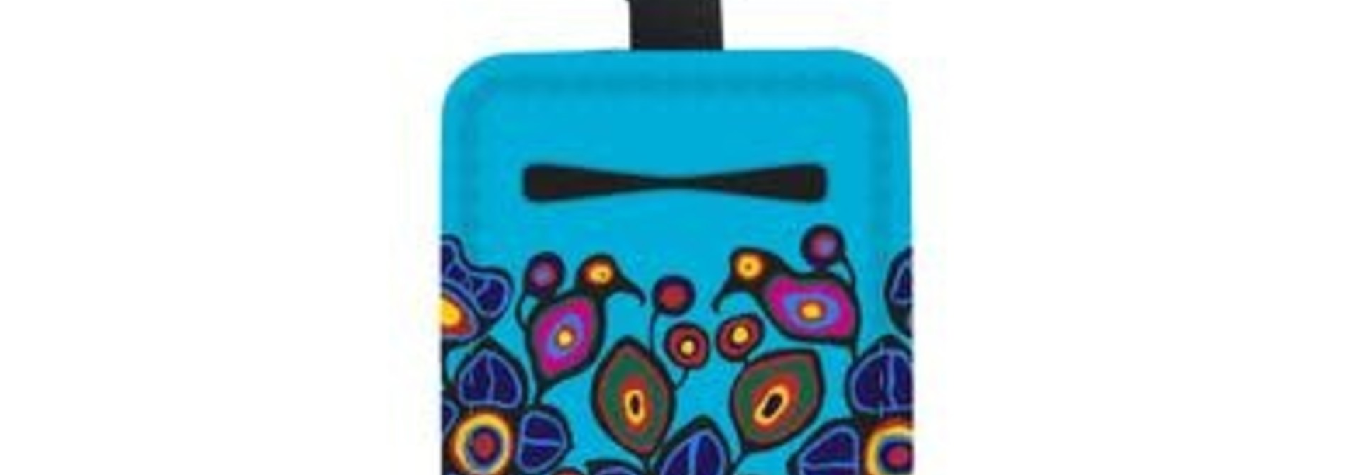 Sanitizer Bottle Holder- Birds & Flowers by Norval Morrisseau