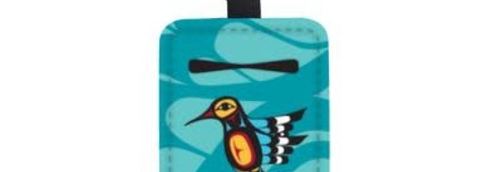 Sanitizer Bottle Holder -Hummingbird by Francis Dick