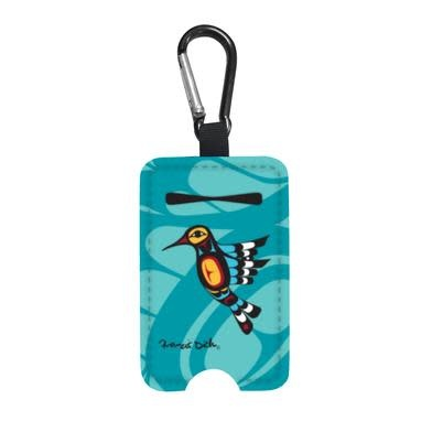 Sanitizer Bottle Holder -Hummingbird by Francis Dick-1