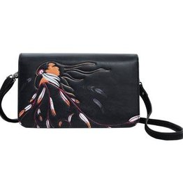 Crossbody Purse-Eagle's Gift by Maxine Noel