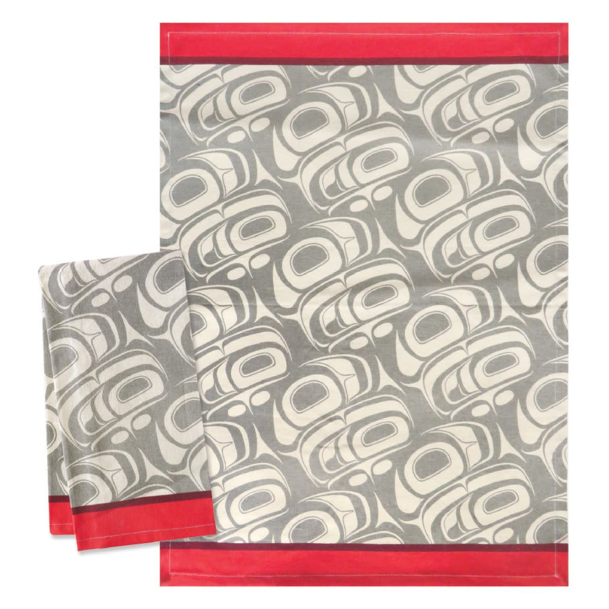 Tea Towel -Transforming Eagle by Ryan Cranmer-1