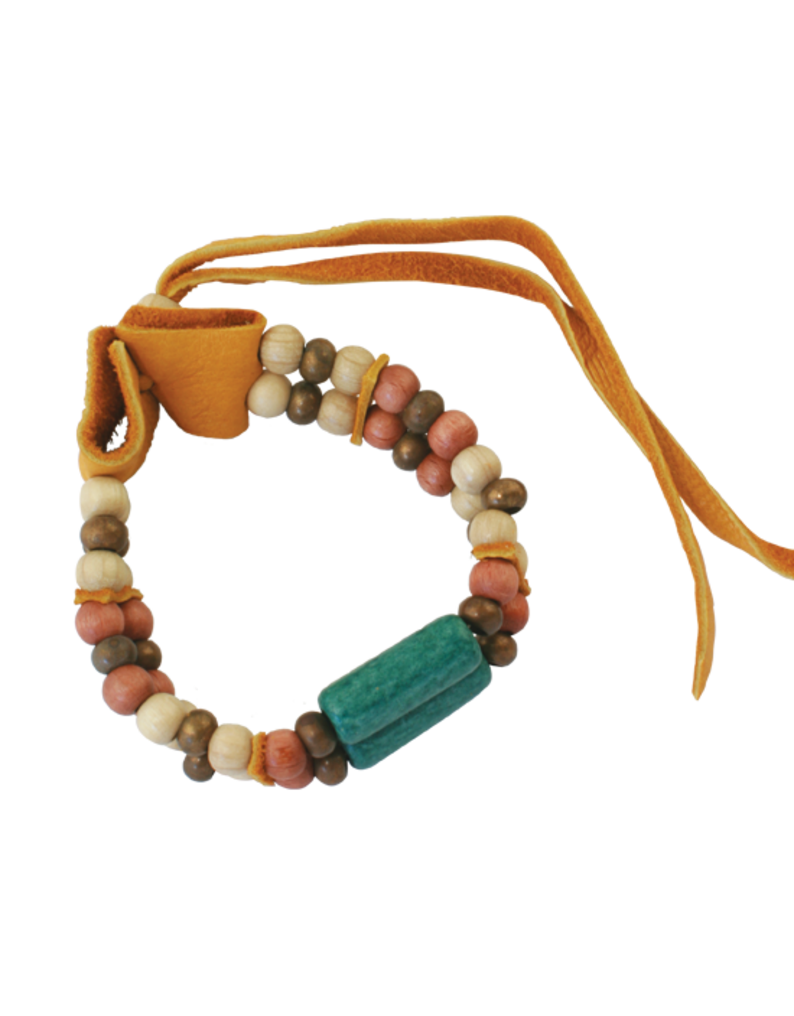 Ceremonial Ceramic adjustable  Bracelet