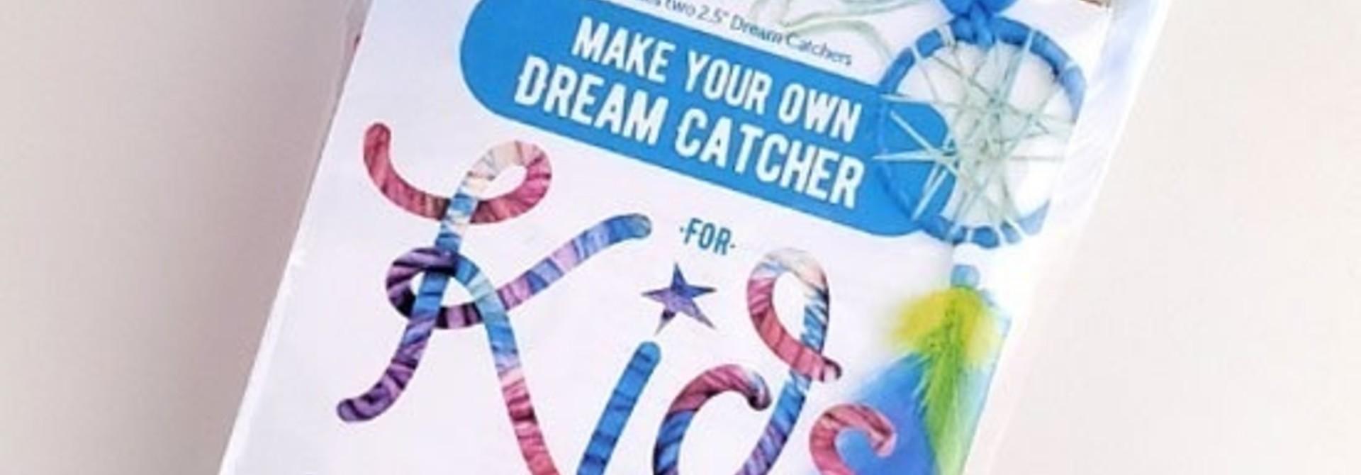 Kids make your own dream catcher kit-Blue