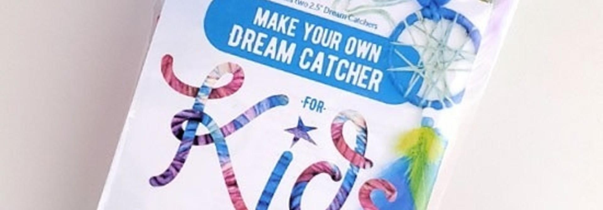 Kids make your own dream catcher kit- Rainbow