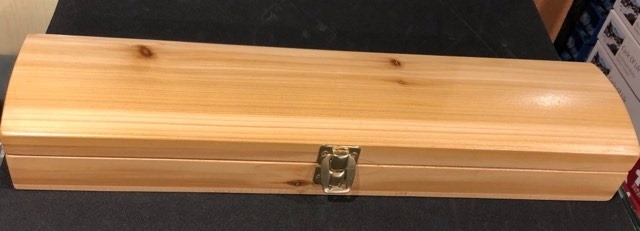 Handcrafted Feather Box - Red Cedar-2