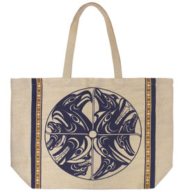 Jute Tote-Harmony by Francis Horne Sr.