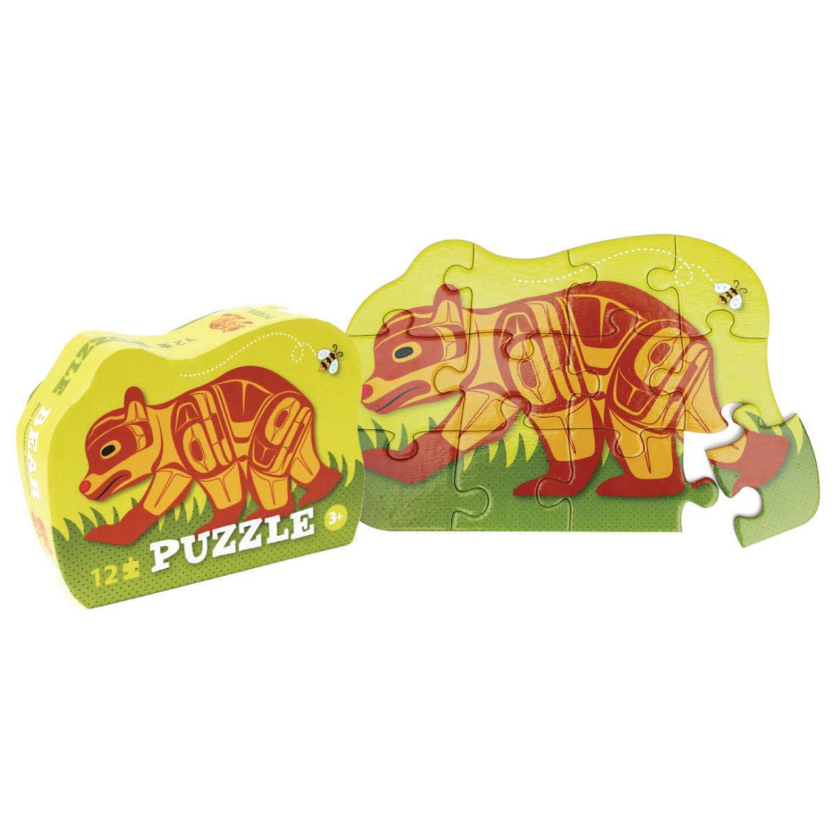 12 Piece Puzzle-Bear by Ben Houstie-1