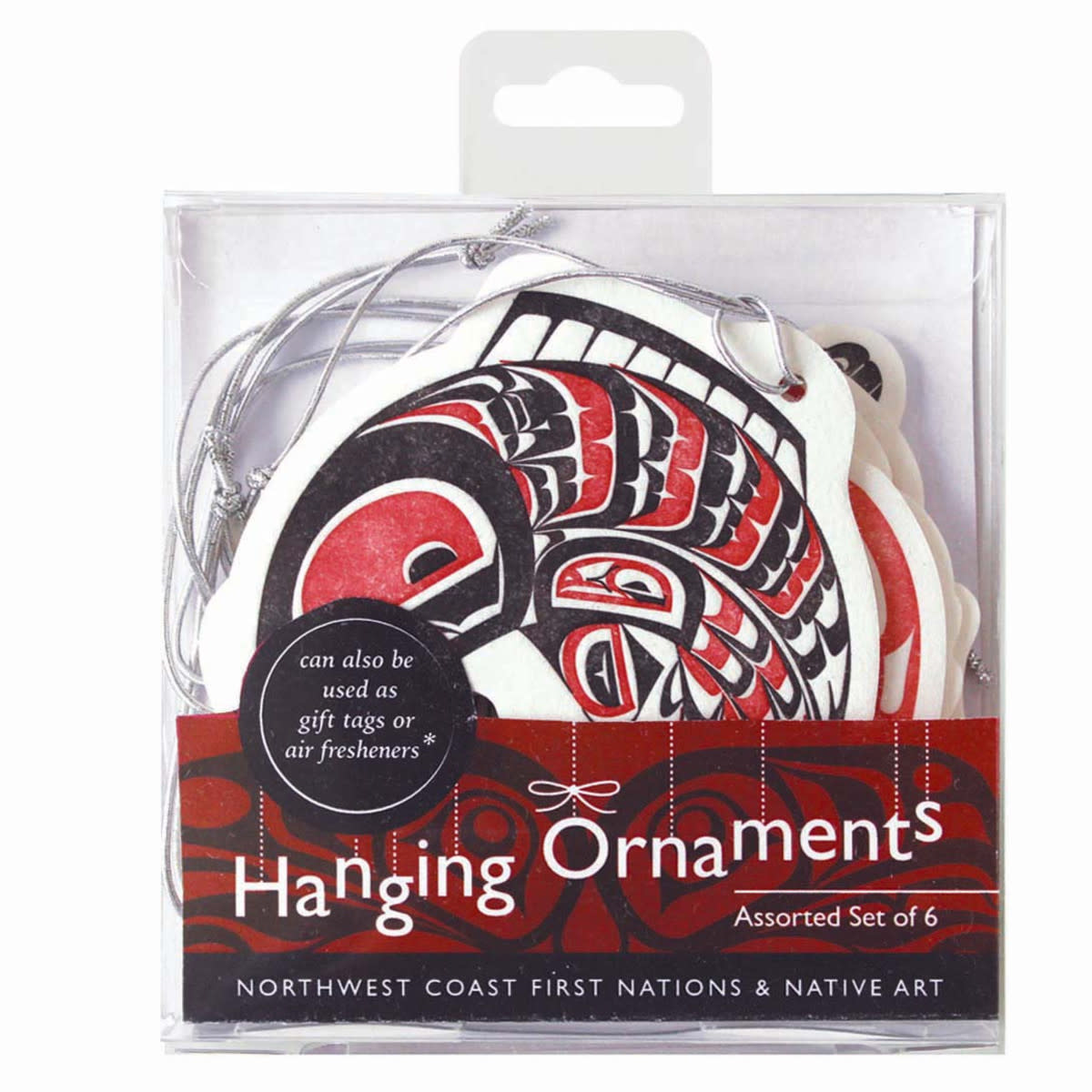 Set of 6 Hanging  Ornaments-Assorted Artists-1
