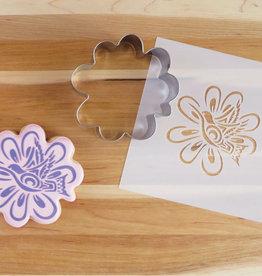 Cookie Cutter & Stencil Set-Hummingbird by Nikki LaRock