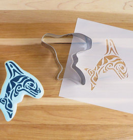 Cookie Cutter & Stencil Set-Orca by Paul Windsor