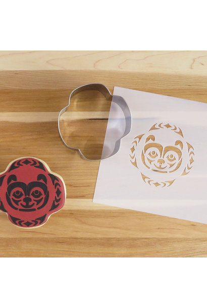 Cookie Cutter & Stencil Set-Bear by Simone Diamond