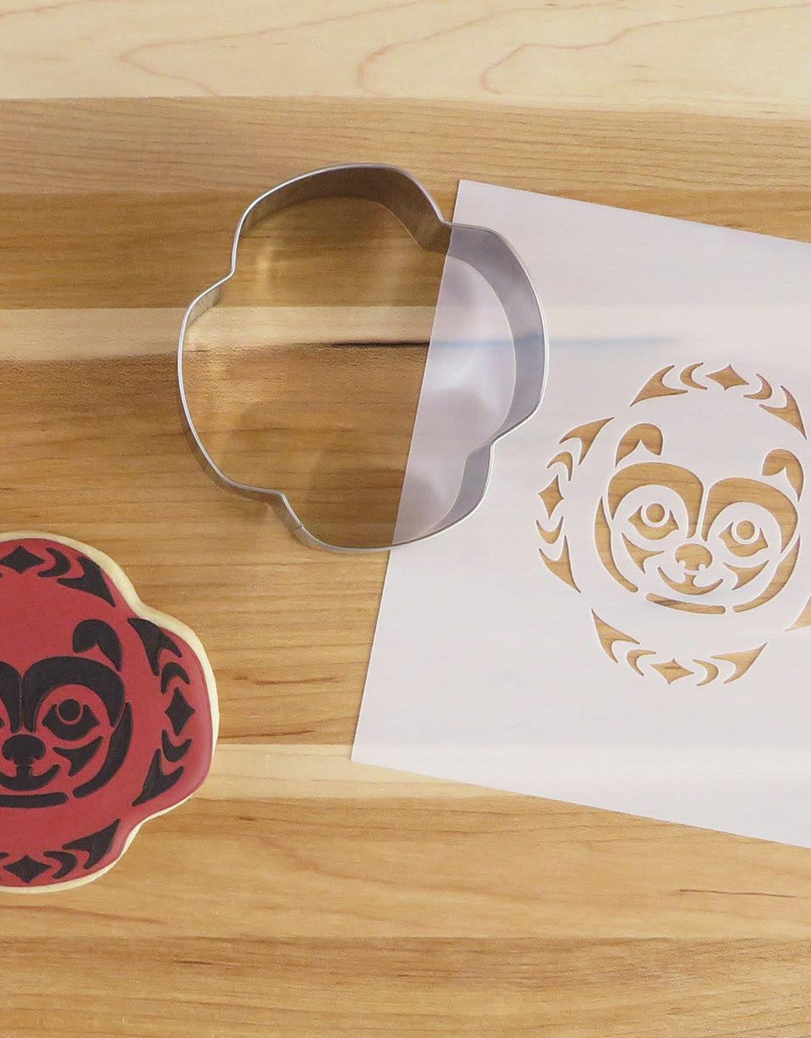 Cookie Cutter & Stencil Set-Bear by Simone Diamond