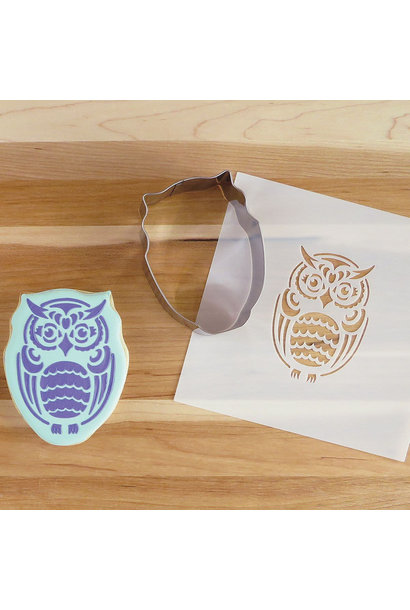 Cookie Cutter & Stencil Set-Owl by Simone Diamond