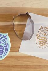 Cookie Cutter & Stencil Set-Owl by Simone Diamond