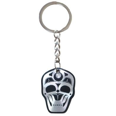 James Johnson Skull Metallic Key Chain-1