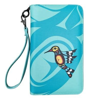 Travel Wallet-Hummingbird by Francis Dick-1