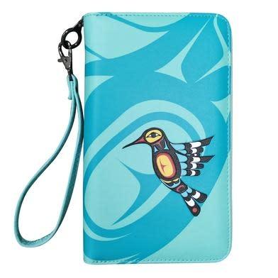 Travel Wallet-Hummingbird by Francis Dick-2