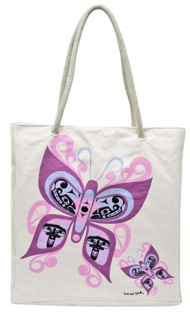 Eco Tote Bag  - Celebration of Life by Francis Dick-1