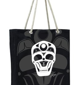 Eco Tote - Skull by James Johnson