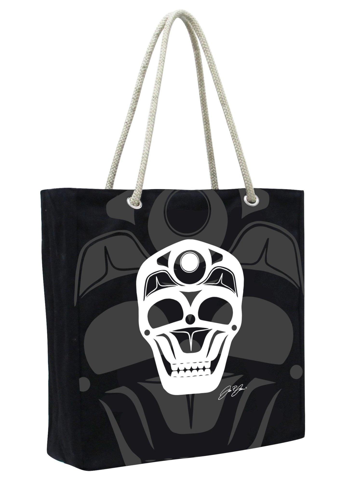 Eco Tote - Skull by James Johnson-1