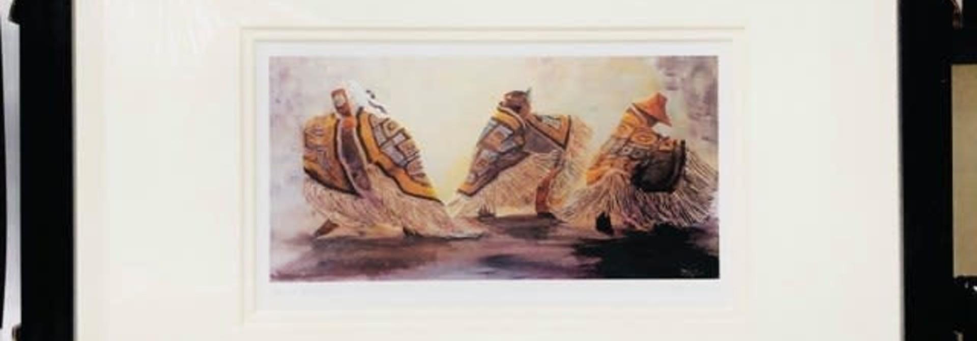 Framed Art Card- Dance Blanket by Jean Taylor