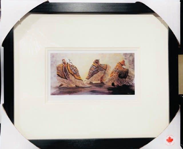 Framed Art Card- Dance Blanket by Jean Taylor-1