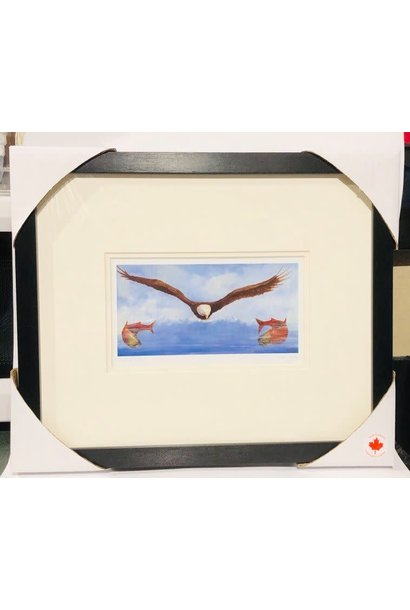 Framed & Matted Art Card - Circle of Life by Jean Taylor