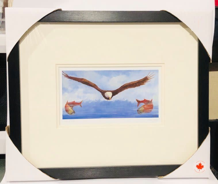 Framed & Matted Art Card - Circle of Life by Jean Taylor-1