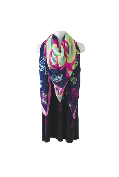 Tapestry Scarf - Butterfly by Paul Windsor