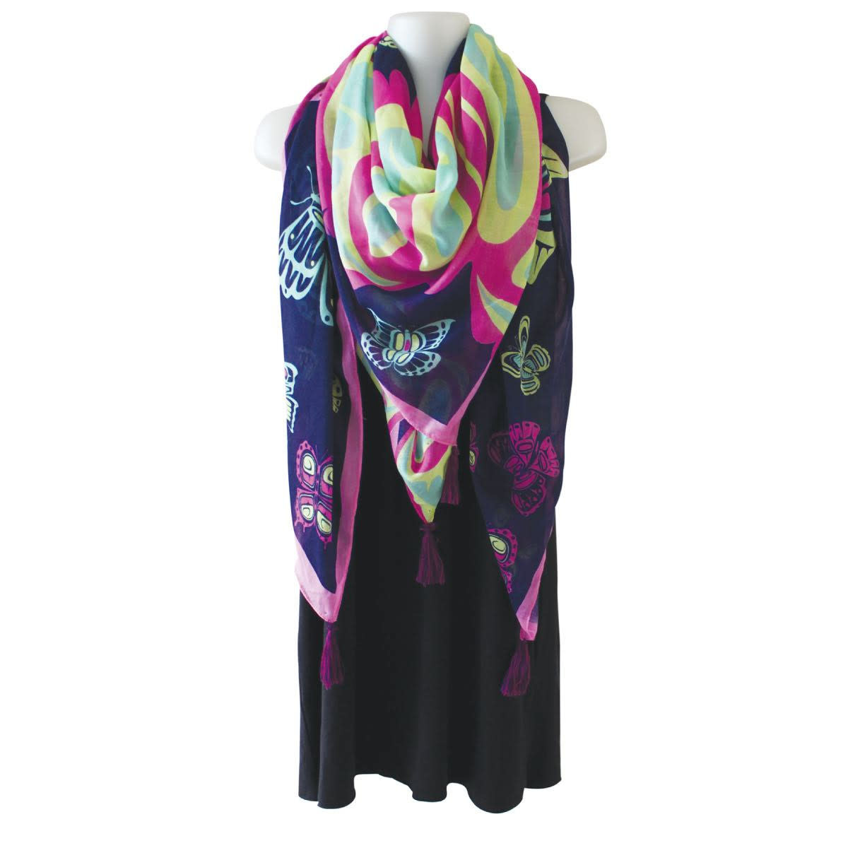 Tapestry Scarf - Butterfly by Paul Windsor-1