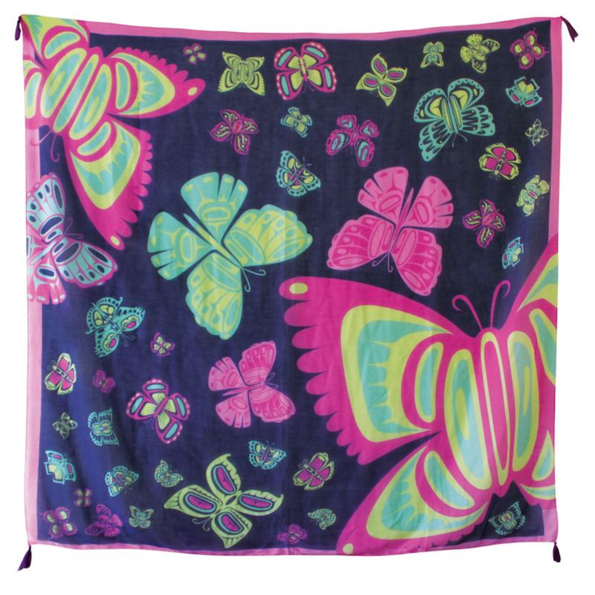 Tapestry Scarf - Butterfly by Paul Windsor-3