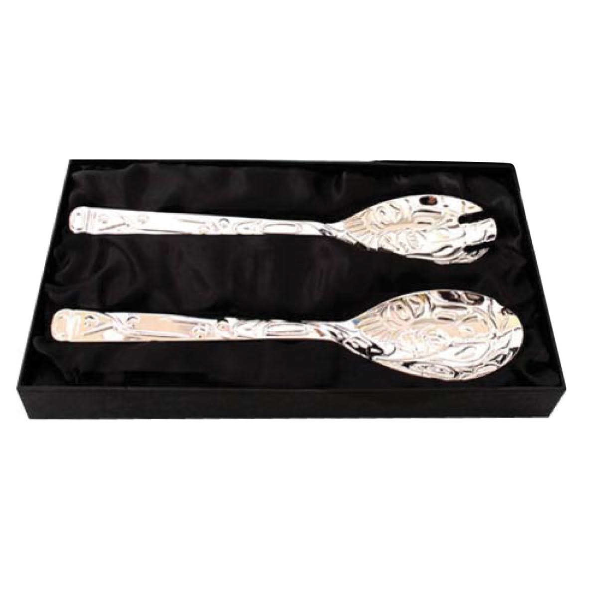 Silver Plated Servers- Salmon by Paul Windsor-1