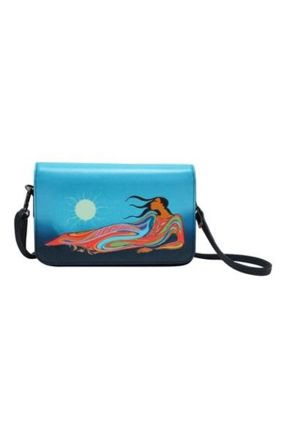 Cross Body Purse - Mother Earth by Maxine Noel