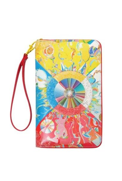 Travel Wallet - Morning Star by Alex Janvier