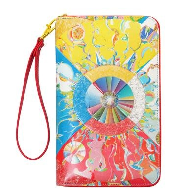 Travel Wallet - Morning Star by Alex Janvier-1