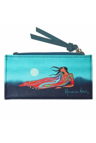 Card Holder - Mother Earth by Maxine Noel