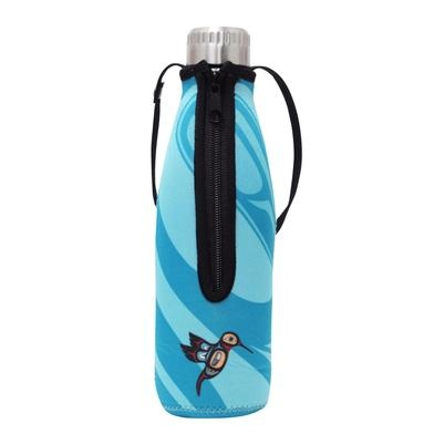 Water Bottle & Sleeve - Hummingbird-2