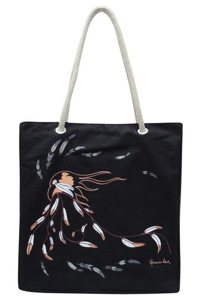 Eco Bag - Eagle's Gift by Maxine Noel