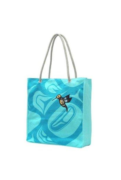 Eco Bag - Hummingbird design
