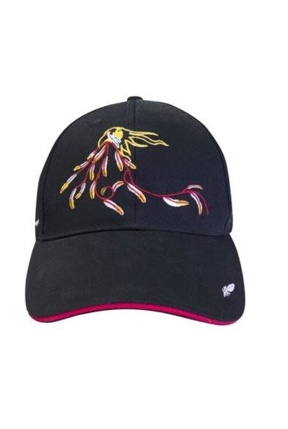 Embroidered Baseball Cap - Eagle's Gift by Maxine Noel