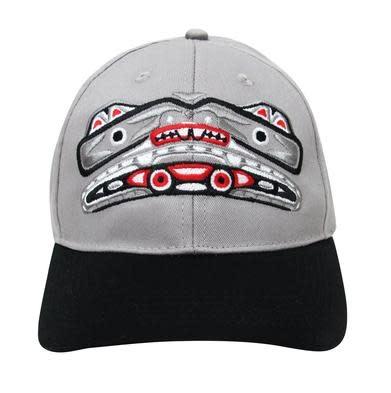 Embroidered Baseball Cap - Bear Box design-1