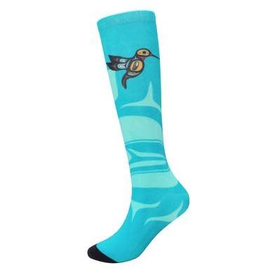 Art Socks - Hummingbird - size  adult small/med-1