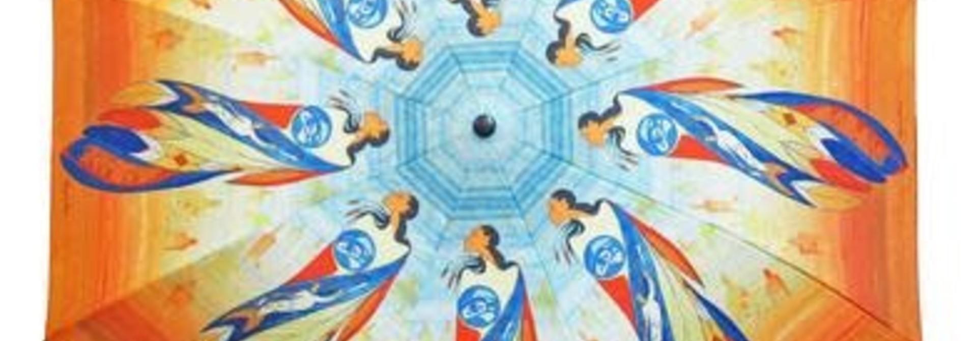 Collapsable Umbrella - Not Forgotten by Maxine Noel