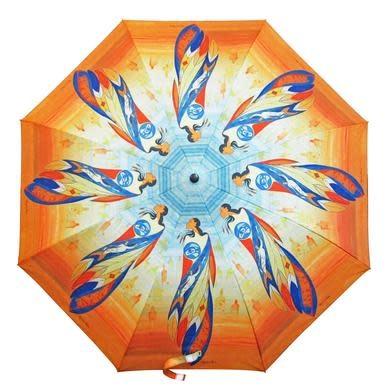 Collapsable Umbrella - Not Forgotten by Maxine Noel-1