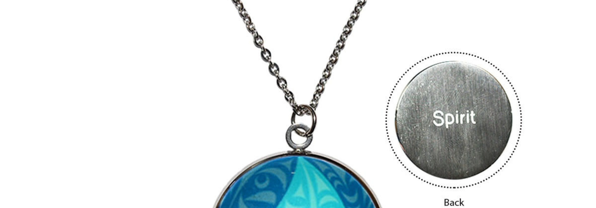 Circle Charm Necklace- Eco Spirit by Dylan Thomas