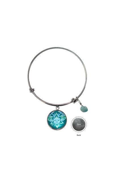 Circle Charm Bangle - Soul Blossom by Simone Diamond
