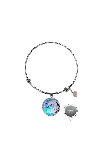 Circle Charm Bangle - Matriarchal Power by Simone Diamond