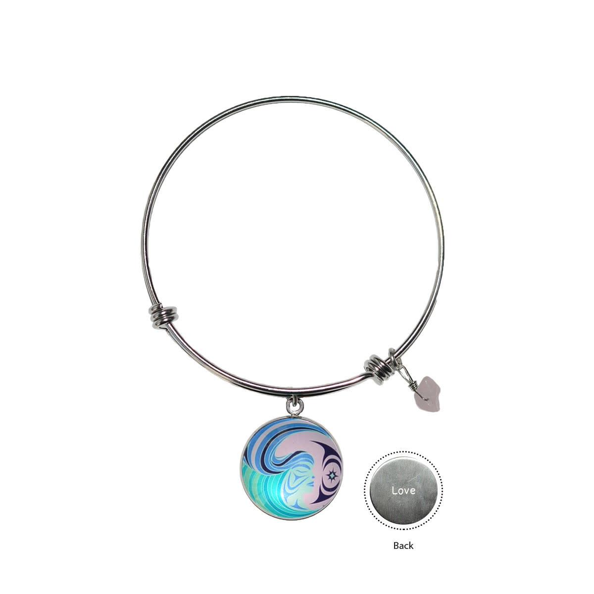 Circle Charm Bangle - Matriarchal Power by Simone Diamond-1