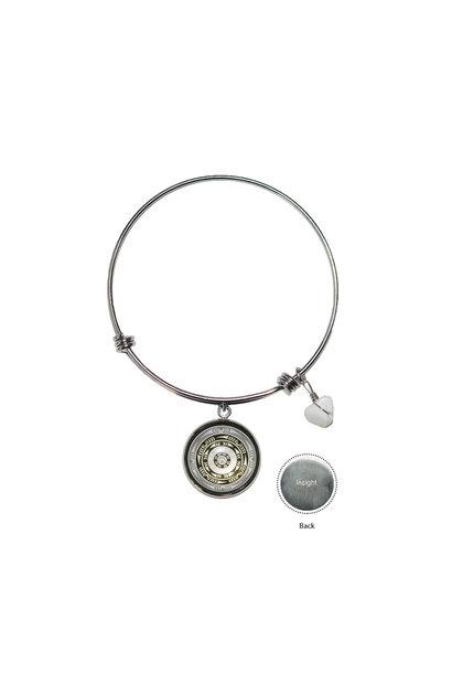Circle Charm Bangle - Life by lessLIE